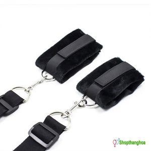 Bộ dụng cụ trói tay chân vào 4 góc giường Melo KL000906 3