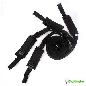 Bộ dụng cụ trói tay chân vào 4 góc giường Melo KL000906 4