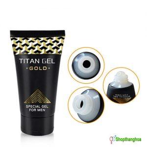 Gel bôi trơn Titan Gold an toàn dùng khi bị khô rát OEM002