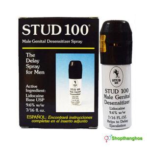Chai xịt Stud 100 chống xuất tinh sớm cho nam giới XTS001