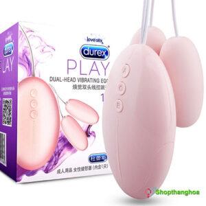 Trứng rung Durex 2 đầu mạnh mẽ và an toàn cho nữ TR010